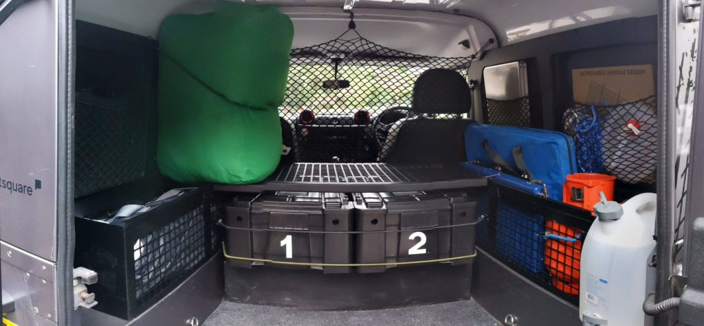 WildTrax Land Rover Expedition Hire Inventory