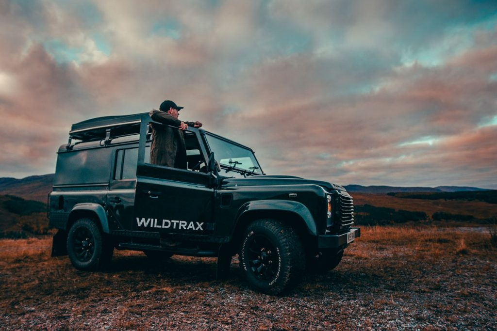 WildTrax Land Rover Hire Rates