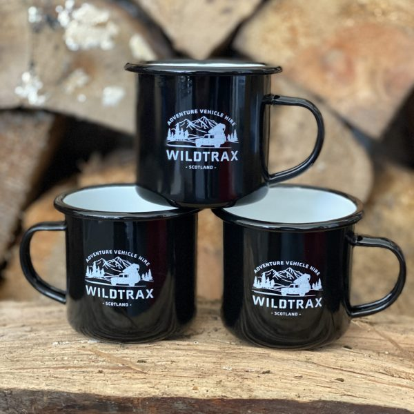 WildTrax Enamel Mugs