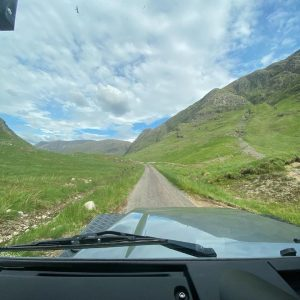 Tips for driving in the Scottish Highlands