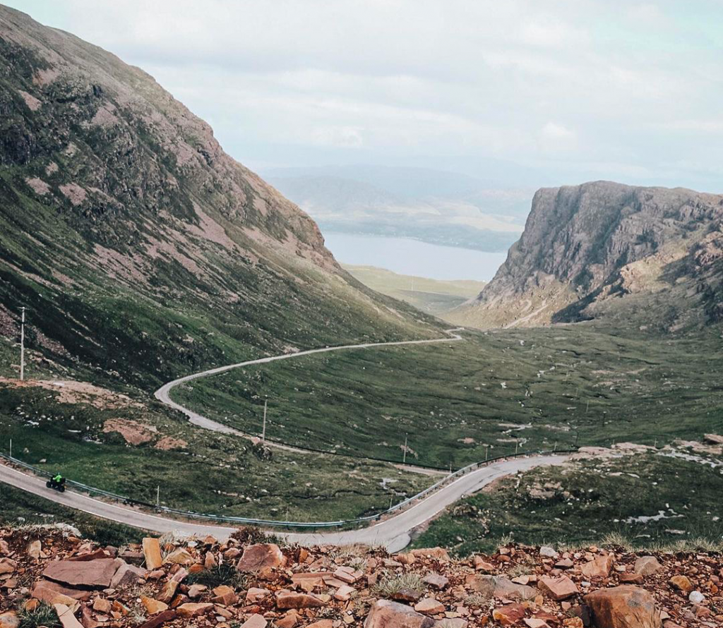 Tip for driving in the Highlands of Scotland
